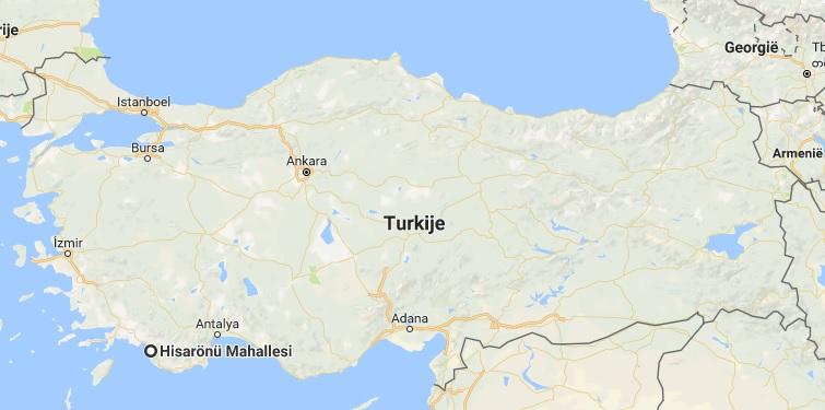 toeristich gebied turkije