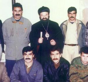 linksboven: Artin Agopyan ook wel gekend als Abdullah Öcalan
