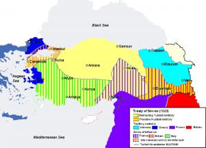 Het verdrag van Lausanne verving het Verdrag van Sèvres van 1920, dat voor Turkije veel ongunstiger was. De nationalisten onder leiding van Atatatürk accepteerden dat verdrag niet. Het gevolg was de Grieks-Turkse oorlog.