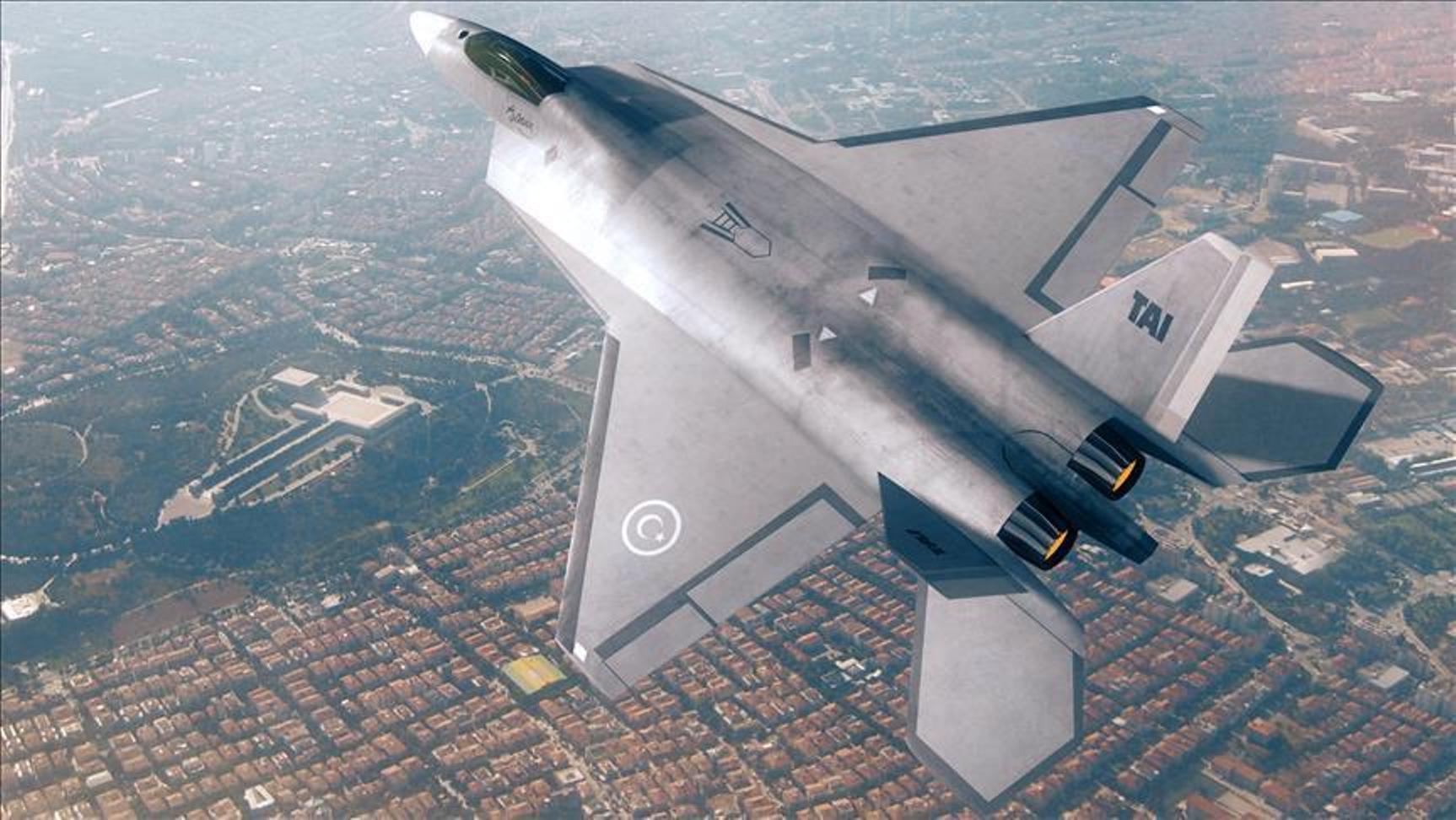 Turkije klaar om 'beste gevechtsvliegtuig ter wereld' te