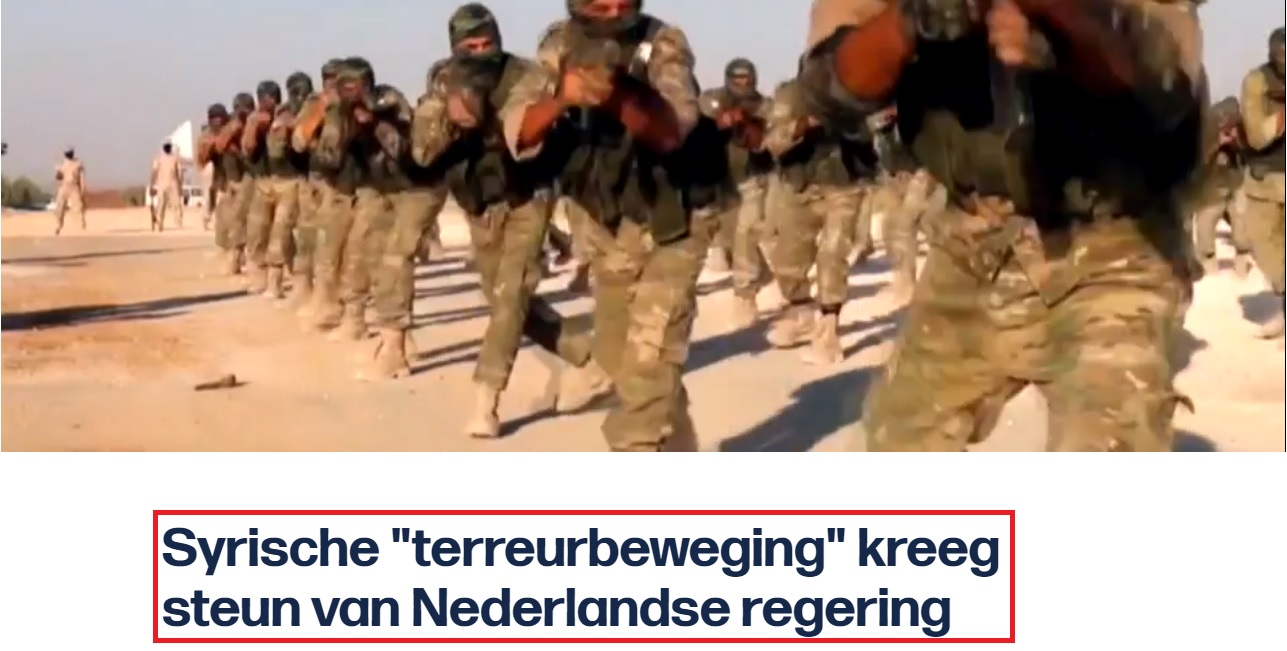 Afbeeldingsresultaat voor Nederlandse regering steunde terroristen